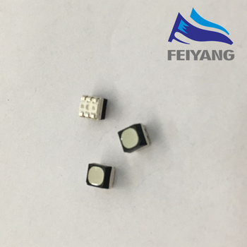 100 adet smd 3535 led rgb PLCC6 3-IN-1 SMD LED Tam Renkli LED 3535 RGB 3-CHIP Açık Tam Renkli Video Ekran