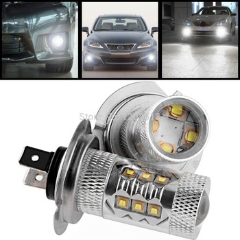 2x80 W Stage3 H7 Cree Chip LED Sis Ampul dökün Chevrolet Dodge/80 W Stage3 H7 Chevrolet için LED Sis Ampul Dodge